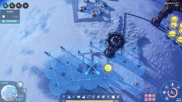 戴森球計劃-小太陽自啟動器佈局