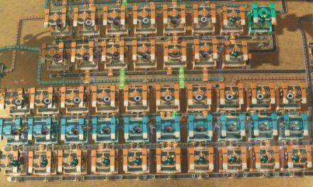 戴森球計劃-綠馬達與CPU配平量化佈局