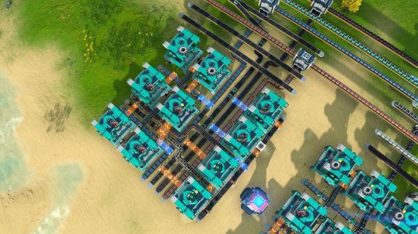 戴森球計劃-60/m超級磁場環及電磁渦輪黑盒產線佈局 11