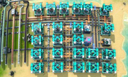 戴森球計劃-60/m超級磁場環及電磁渦輪黑盒產線佈局