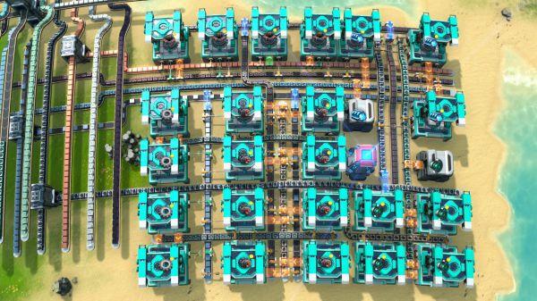 戴森球計劃-60/m超級磁場環及電磁渦輪黑盒產線佈局 9