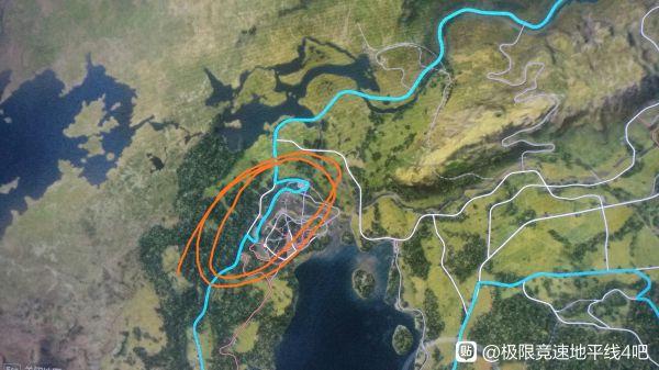 極限競速地平線4-藍圖迎戰巨漢騙人機道路路線 3