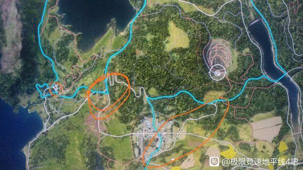 極限競速地平線4-藍圖迎戰巨漢騙人機道路路線 11
