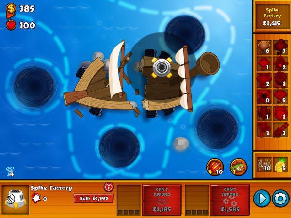 氣球塔防6-shipwreck沉船特任攻略 3