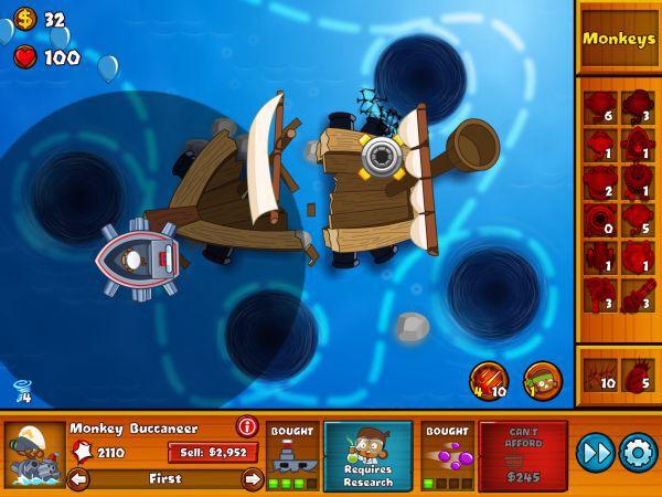 氣球塔防6-shipwreck沉船特任攻略 9