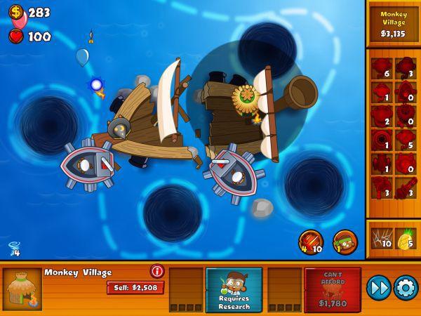 氣球塔防6-shipwreck沉船特任攻略 13