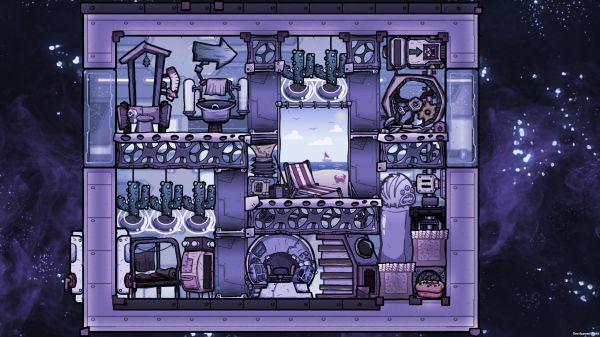 缺氧-眼冒金星DLC火箭指揮艙佈局建議 5