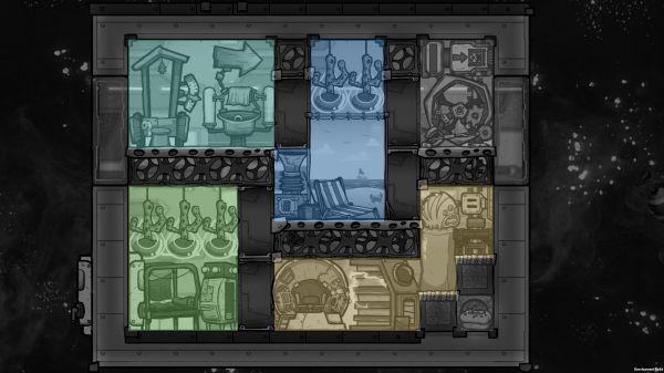 缺氧-眼冒金星DLC火箭指揮艙佈局建議 7