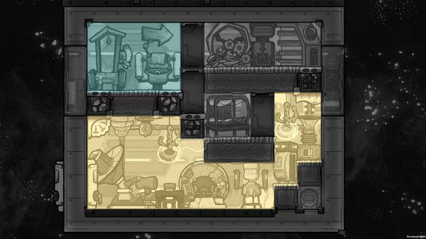 缺氧-眼冒金星DLC火箭指揮艙佈局建議 11
