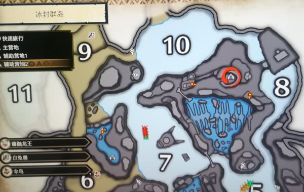 魔物獵人崛起-全地圖輔助營地位置分享及解鎖 9
