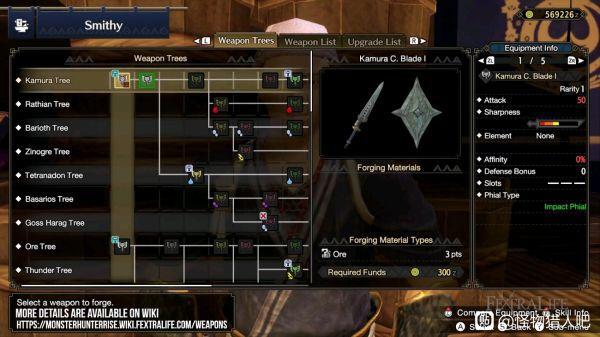 魔物獵人崛起-盾斧武器強度解析 1