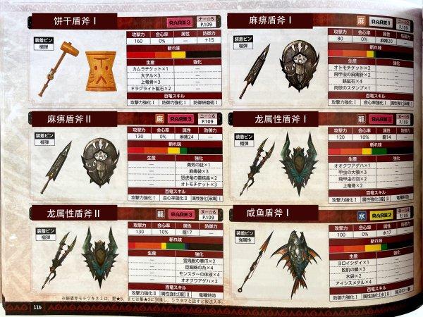 魔物獵人崛起-盾斧衍生武器 13