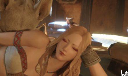 魔物獵人崛起-金發小姐姐捏臉數據參考