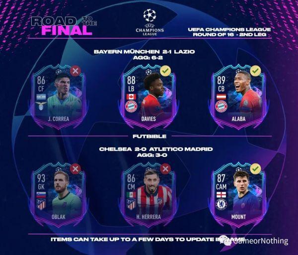 FIFA21-第25周最佳陣容TOTW25 9