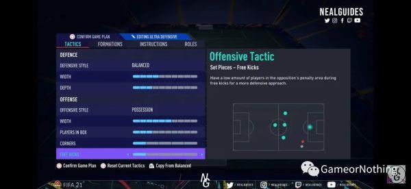 FIFA21-433-3戰術板使用 1
