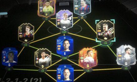 FIFA21-D5西甲隊伍配置