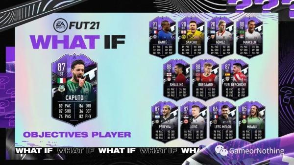 FIFA21-What if假設卡拉菲尼亞SBC作業 13