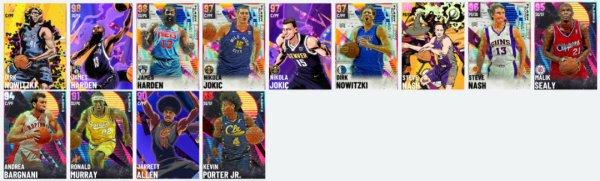 NBA2K21-銀河哈登領銜Flash7卡包 5