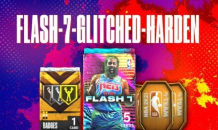 NBA2K21-銀河哈登領銜Flash7卡包