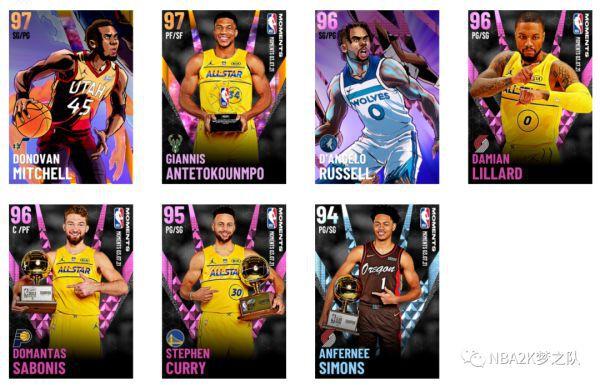 NBA2K21-2021全明星賽球員卡 1