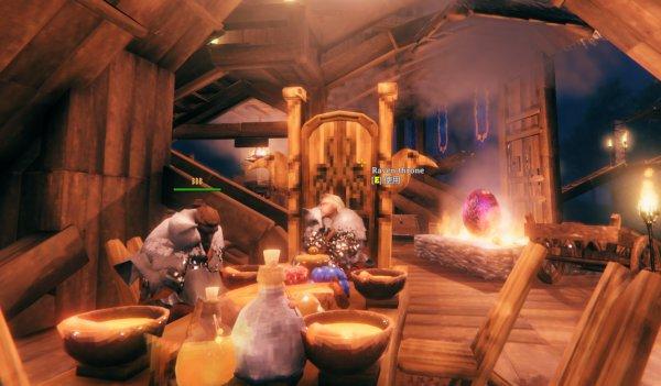 Valheim英靈神殿-室內裝潢佈置參考 55