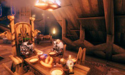 Valheim英靈神殿-室內裝潢佈置參考