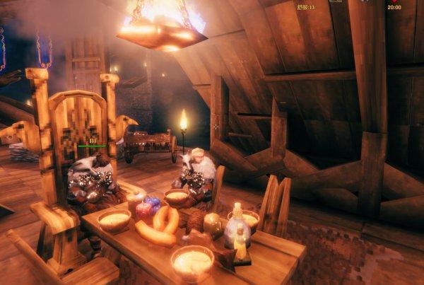 Valheim英靈神殿-室內裝潢佈置參考 53