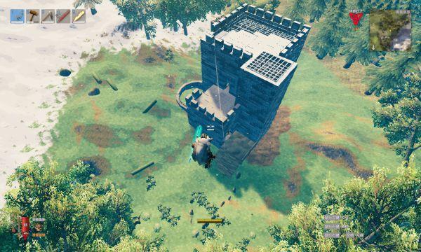 Valheim英靈神殿-建築坍塌解決方案 7