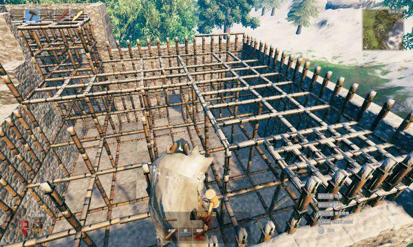 Valheim英靈神殿-建築坍塌解決方案 1