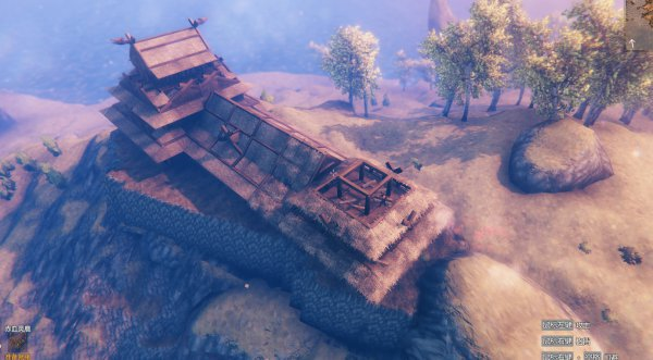 Valheim英靈神殿-日式天守建造過程 23