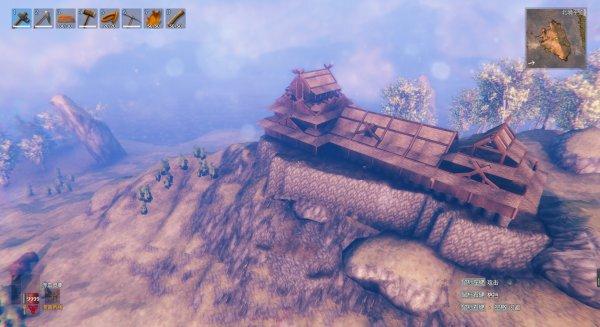 Valheim英靈神殿-日式天守建造過程 25
