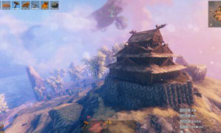 Valheim英靈神殿-日式天守建造過程