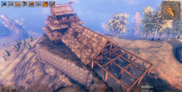 Valheim英靈神殿-日式天守建造過程 19