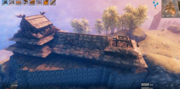 Valheim英靈神殿-日式天守建造過程 21