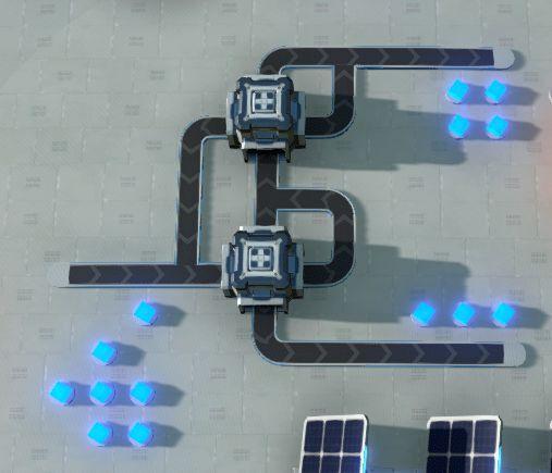 戴森球計劃-簡易分流器建造 25