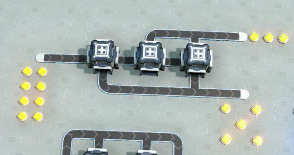 戴森球計劃-簡易分流器建造 27