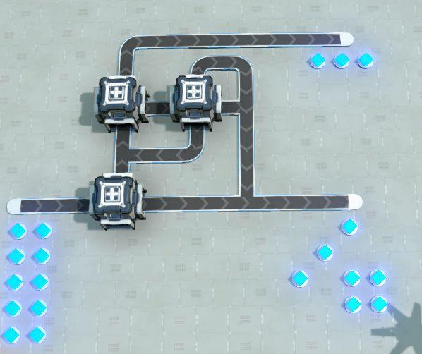 戴森球計劃-簡易分流器建造 29