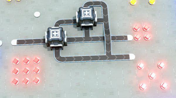 戴森球計劃-簡易分流器建造 31