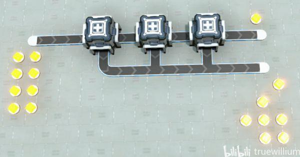 戴森球計劃-簡易分流器建造 13