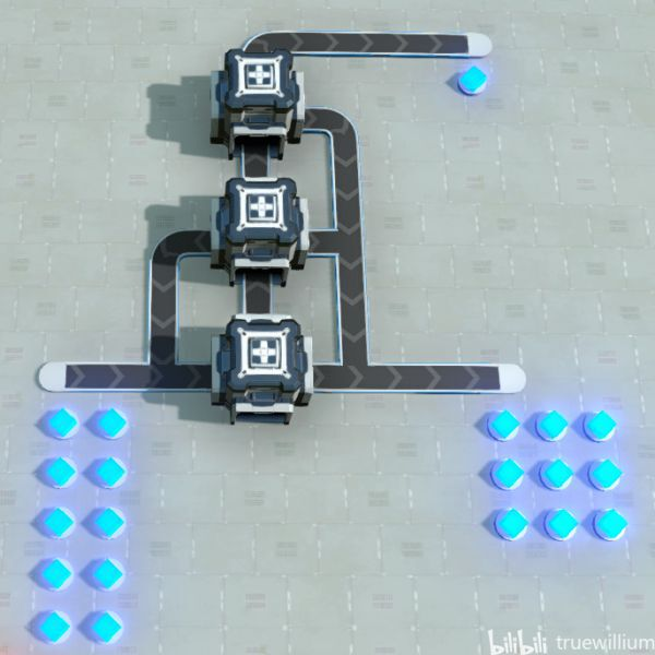 戴森球計劃-簡易分流器建造 17