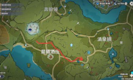 原神-各木材便捷採集路線