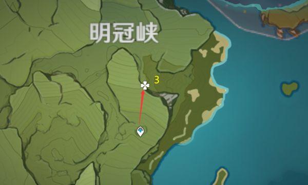 原神-小燈草採集路線規劃 11