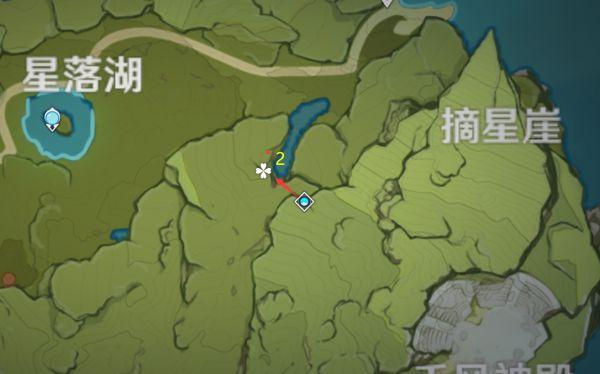 原神-小燈草採集路線規劃 13
