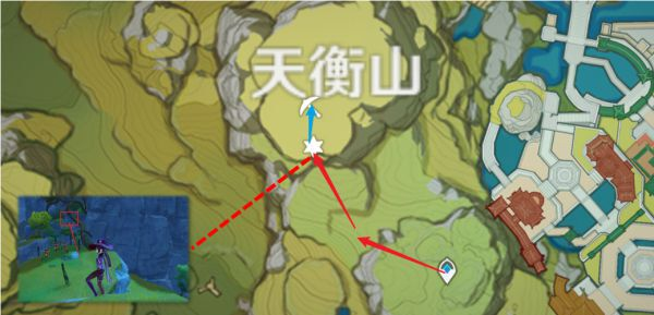 原神-煙緋培養材料高效收集路線 9