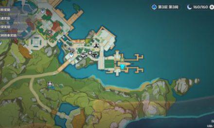 原神-璃月港寶箱收集路線規劃