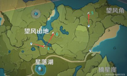 原神-白鐵礦採集地點及路線