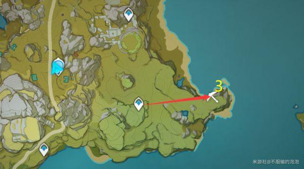 原神-白鐵礦採集地點及路線 11