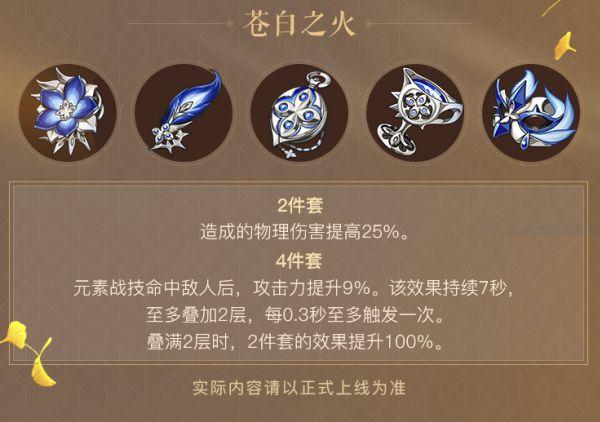 原神-蒼白之火強度評測及使用角色 3