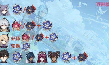 原神-蒼白之火強度評測及使用角色