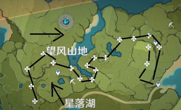 原神-薄荷採集路線 3